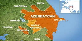 Azerbaycan (Karabağ) Canlı Harita